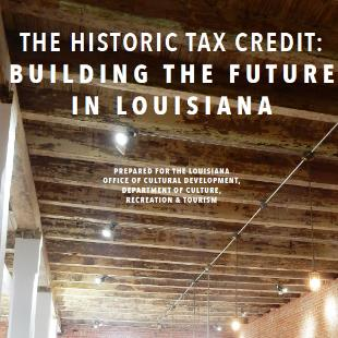 Louisiana Historic Building Tax Credit Report Logo