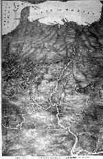 copy of the map of the Mississippi river, 1862
