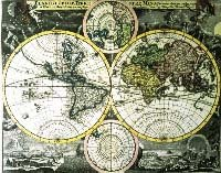 Copy of a Map of the World, 1707