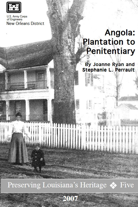 Angola Plantation to Penitentiary book cover