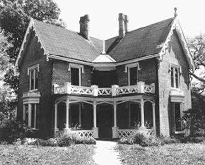 Gothic revival louisiana architecture a handbook on styles for Gothic revival house plans