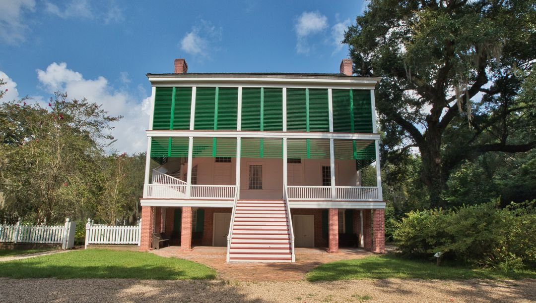 Oakley House at Audubon State Historic Site