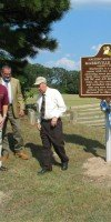 Dedication of the Mounds Trail