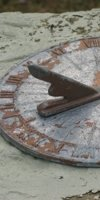 A sundial donated by Fmr. Gov. Jimmie Davis