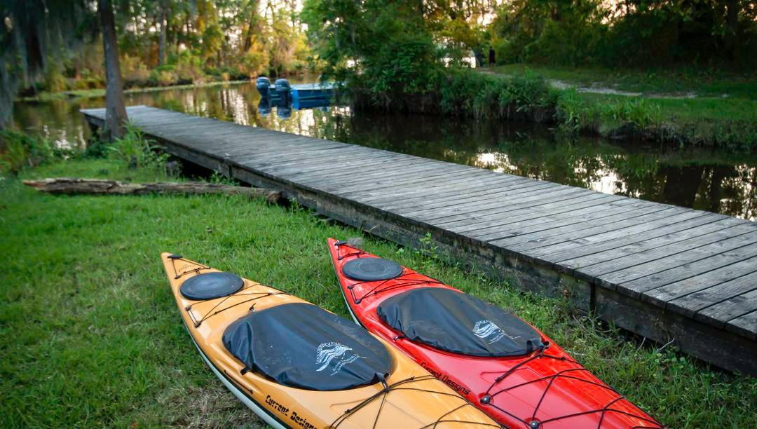 Bring your kayak or canoe and travel down the Tchefuncte River