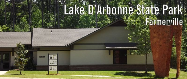 Exterior image of Lake D'Arbonne's 60-person capacity meeting room