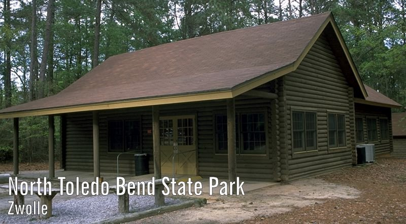 Exterior image of North Toledo Bend's 60-person capacity meeting room
