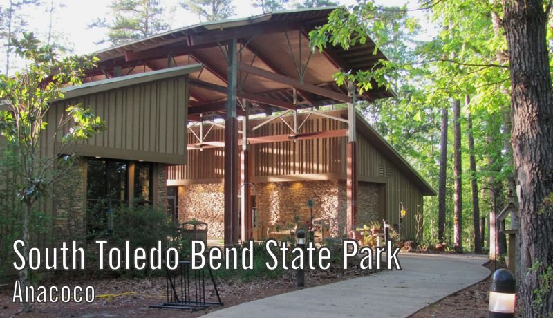 Exterior image of South Toledo Bend's 60-person capacity meeting room